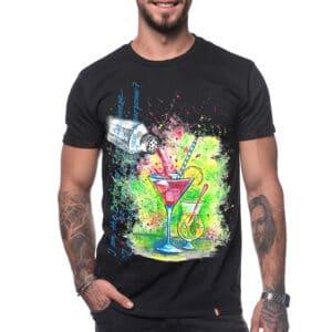 "Painted T-shirt ""I'M A BARMAN"""