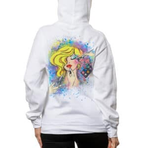 """Painted Hoodie """"I'M A BEAUTY MASTER"""""""