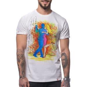"Painted T-shirt ""I'M A DANCER"""
