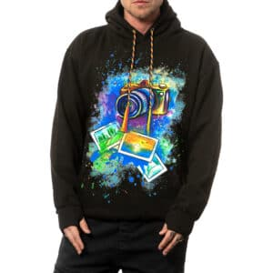"""Painted Hoodie """"I'M A PHOTOGRAPHER"""""""